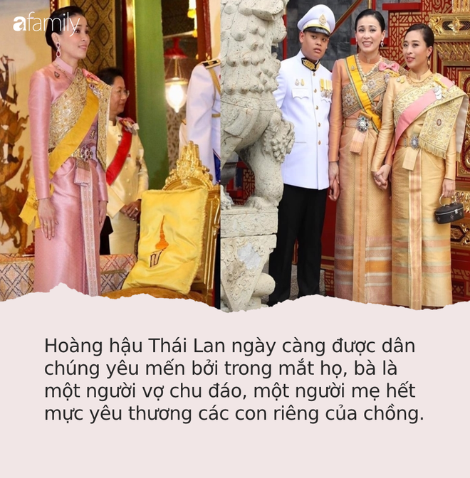 Hoàng hậu Thái Lan trở thành mẹ kế được dân chúng ngưỡng mộ bởi một loạt hành động đầy yêu thương với Hoàng tử nhỏ bị thiếu thốn tình cảm - Ảnh 4.