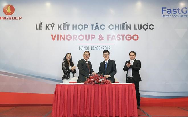 Thuê mua 1.500 xe VinFast, Fastgo bắt tay ông lớn VinGroup tạo dựng mô hình xe công nghệ kiểu mới ở Việt Nam