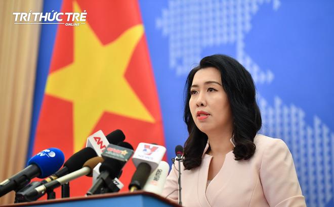 Việt Nam phản đối Trung Quốc tái diễn vi phạm, yêu cầu rút toàn bộ nhóm tàu ra khỏi vùng biển Việt Nam