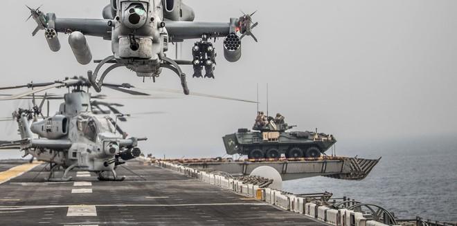 5 cú đấm của Thủy quân lục chiến Hoa Kỳ: Sẵn sàng cho tác chiến đổ bộ tương lai? - Ảnh 11.