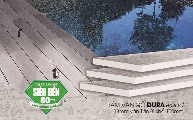 Tấm xi măng vân gỗ Durawood - Sắc thiên nhiên vững bền cho ngôi nhà bạn