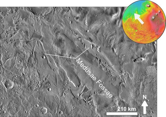 Những nơi trên Sao Hỏa mà con người có thể khám phá được - Ảnh 4.