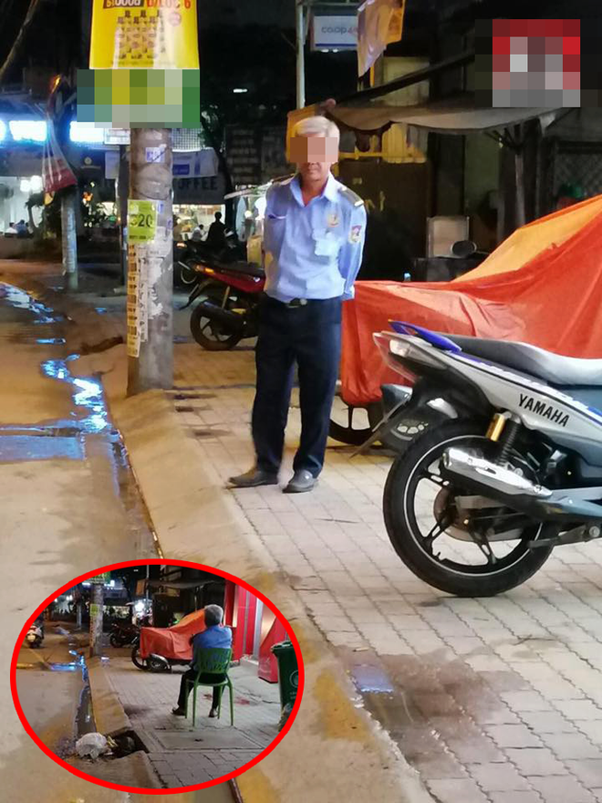 Người đàn ông đi chân đất vào cửa hàng, bật lon bia không trả tiền, cách xử lí của bảo vệ khiến dân mạng thán phục - Ảnh 1.