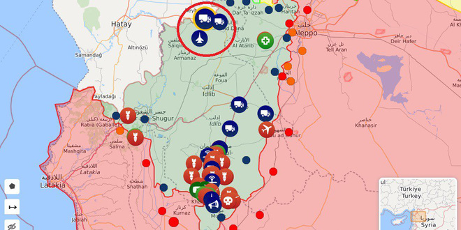 Căng thẳng tăng cao, phiến quân sụp đổ, Thổ Nhĩ Kỳ cấp tốc ứng cứu - QĐ Syria được lệnh tấn công, bất kể là ai - Ảnh 2.