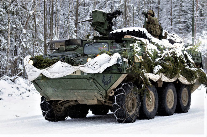 Khám phá xe thiết giáp M1126 Stryker Thái Lan sắp sở hữu - Ảnh 1.