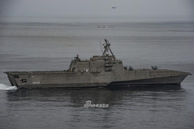 Tàu chiến ven bờ Mỹ chuẩn bị lột xác thành khinh hạm cực mạnh? - Ảnh 1.