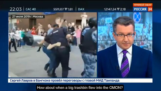 Biểu tình lớn ở Nga: Những hình ảnh sốc chưa từng xuất hiện trên mặt báo phương Tây tố cáo âm mưu đen tối? - ảnh 2