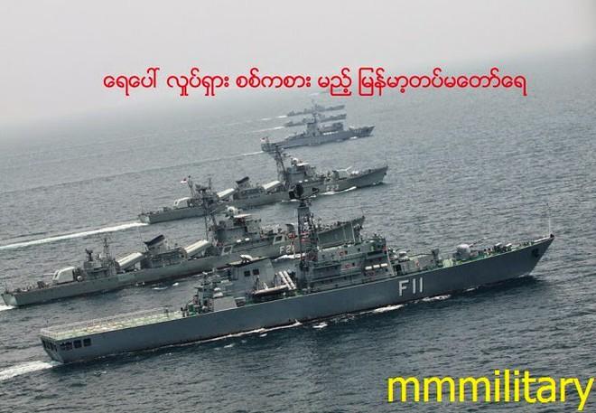 Hải quân Myanmar âm thầm, lặng lẽ, bùng phát ăn đứt cả làng:  Đông Nam Á ngỡ ngàng! - Ảnh 2.