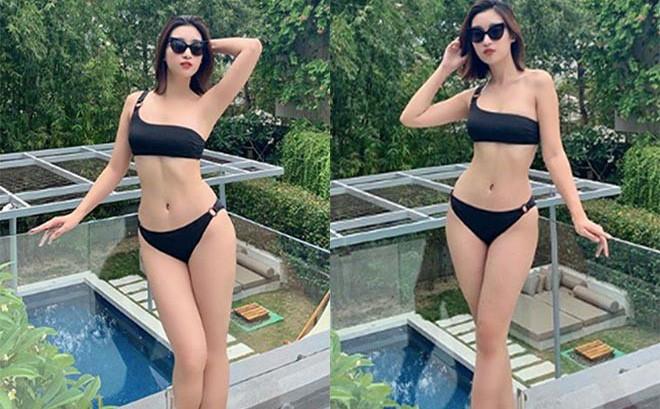 Hoa hậu Đỗ Mỹ Linh khoe ảnh diện bikini nóng bỏng