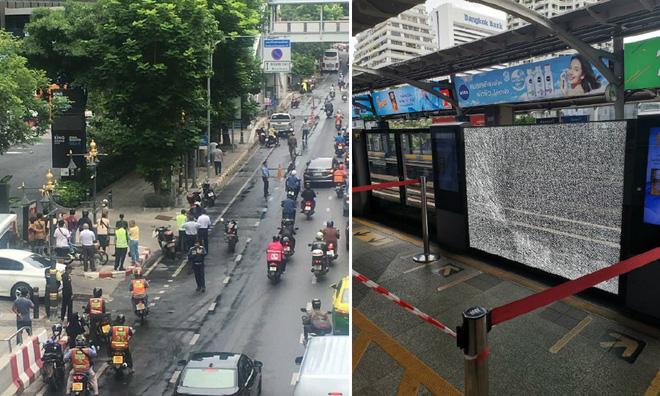 Nhiều vụ nổ liên tiếp ở Bangkok giữa lúc hội nghị Ngoại trưởng ASEAN đang diễn ra - Ảnh 3.