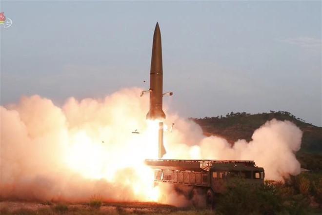 Triều Tiên vừa phóng tên lửa, Mỹ bày tỏ hy vọng nối lại đàm phán hạt nhân - Ảnh 3.