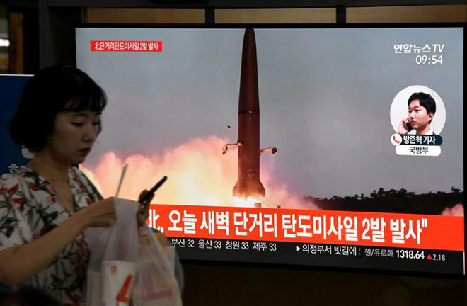 Triều Tiên vừa phóng tên lửa, Mỹ bày tỏ hy vọng nối lại đàm phán hạt nhân - Ảnh 4.
