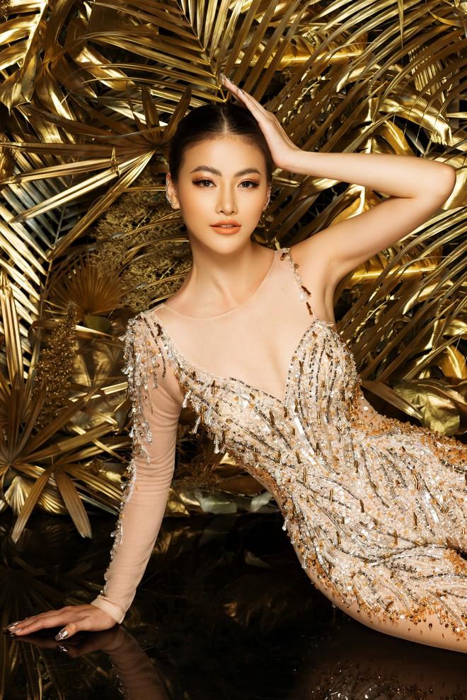 Phương Khánh khoe vẻ gợi cảm khi mặc lại trang phục gây ấn tượng tại Miss Earth - Ảnh 7.