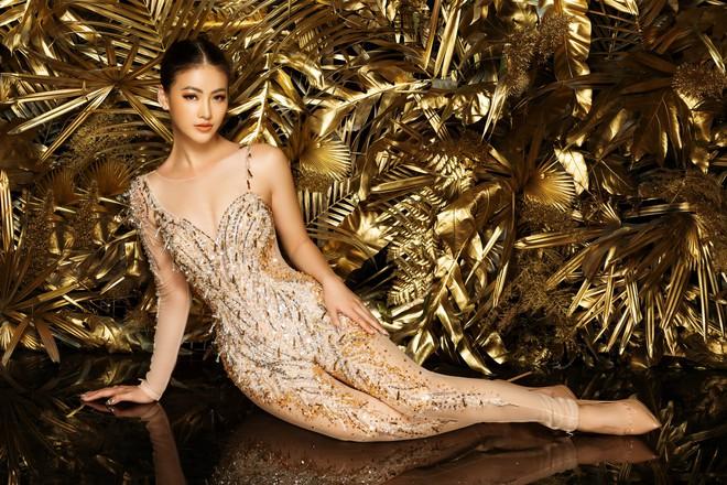 Phương Khánh khoe vẻ gợi cảm khi mặc lại trang phục gây ấn tượng tại Miss Earth - Ảnh 6.