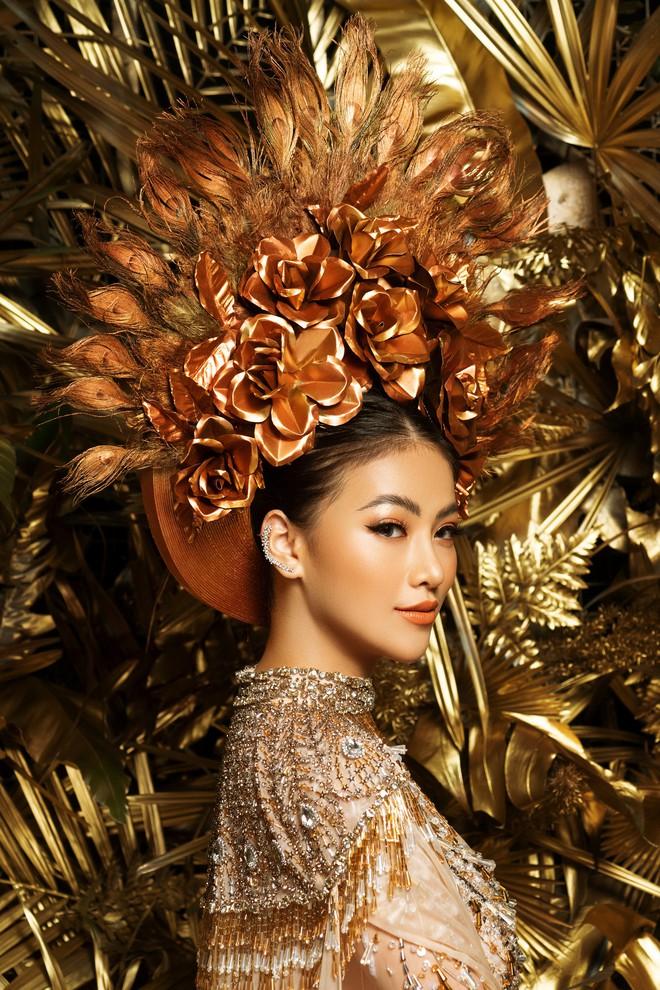 Phương Khánh khoe vẻ gợi cảm khi mặc lại trang phục gây ấn tượng tại Miss Earth - Ảnh 4.