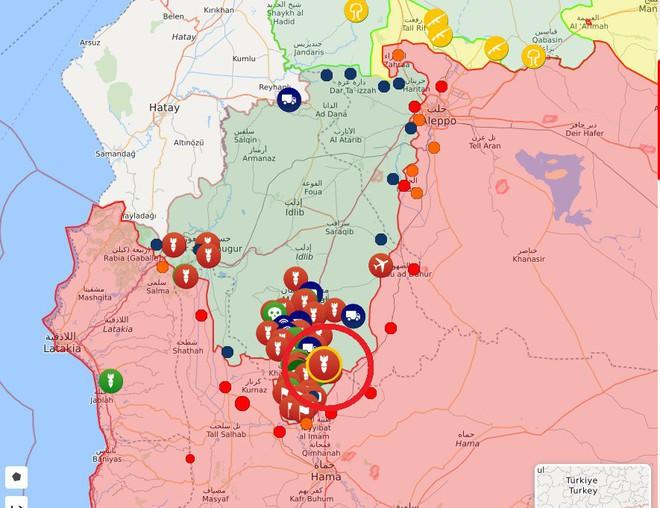 Căn cứ đầu não QĐ Nga ở Syria bị tấn công, phòng không báo động khẩn - Tiêm kích Su-35 truy đuổi chiến đấu cơ Thổ - Ảnh 1.
