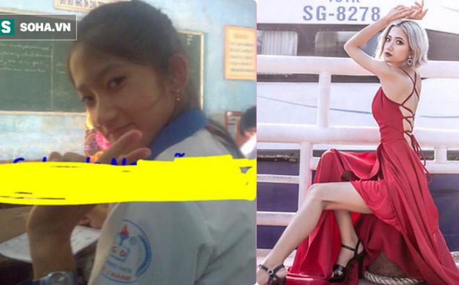 Nữ sinh 20 tuổi có vòng eo 54 cm, xinh như hot girl tiết lộ ảnh quá khứ đen nhẻm