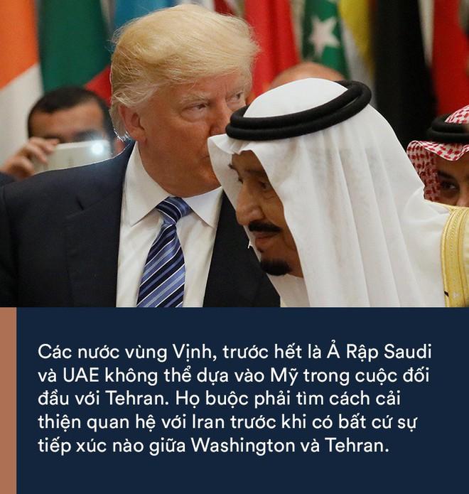 Iran bất ngờ xuống nước với các quốc gia vùng Vịnh: Liệu có vượt qua được bức tường dày của Mỹ? - Ảnh 1.