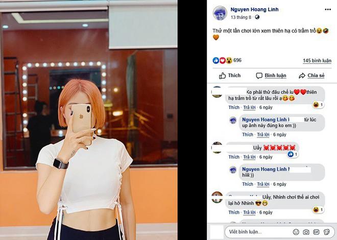 Loạt ảnh sexy mới của MC Hoàng Linh gây tranh cãi - Ảnh 3.