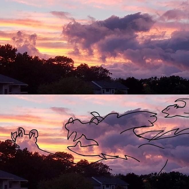 Sửng sốt với những chú thú biến hình trên bầu trời - Ảnh 4.