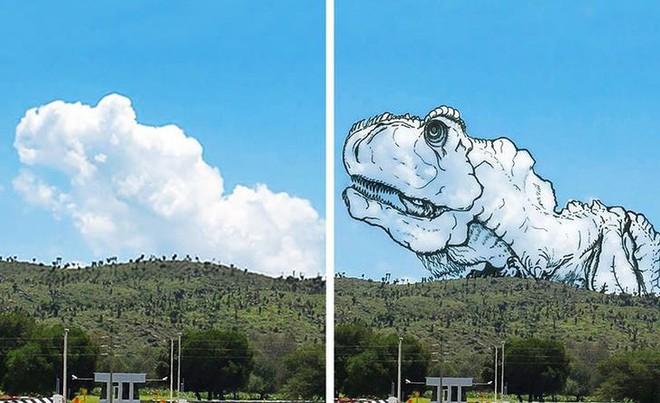 Sửng sốt với những chú thú biến hình trên bầu trời - Ảnh 6.