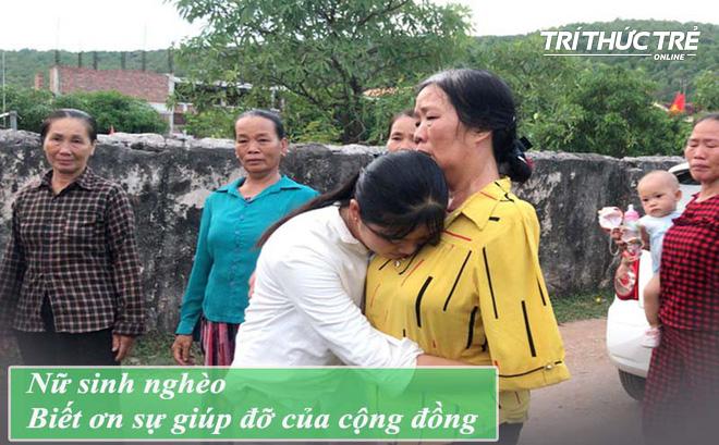 """Nữ sinh nghèo """"phải cất giấy báo nhập học"""" phấn chấn, xúc động trong ngày đầu tiên ra Hà Nội nhập học"""