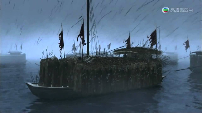 Lý do Gia Cát Lượng không sợ bỏ mạng khi dùng kế thuyền cỏ mượn tên trước quân Tào Tháo? - Ảnh 1.