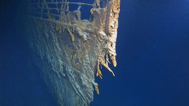 Những hình ảnh mới nhất gây sốc về số phận hiện tại của Titanic - Ảnh 1.