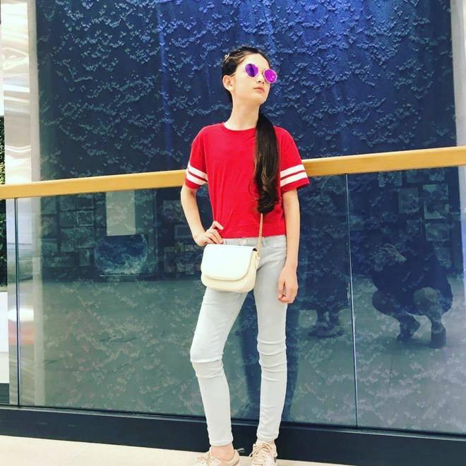 Em gái Lâm Tây sở hữu chiều cao 1m65 và thần thái cuốn hút ở tuổi 12 - Ảnh 5.