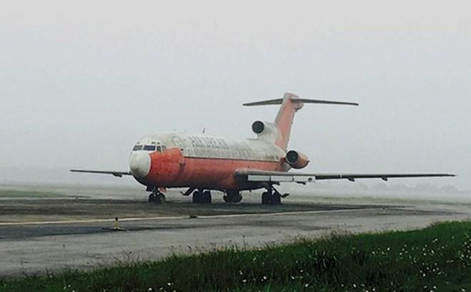 Xử lý thế nào tàu bay bị bỏ quên 12 năm ở sân bay Nội Bài?