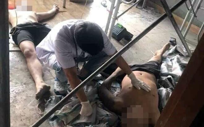 Điện giật 3 thợ trần thạch cao ở Bắc Ninh, 2 người tử vong tại chỗ