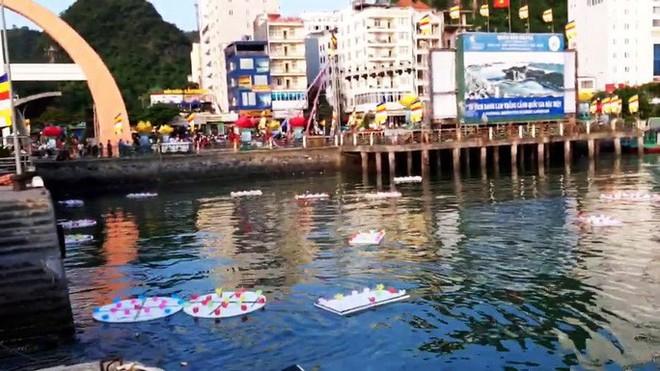 Xôn xao vụ 30.000 hoa đăng thả xuống vịnh Lan Hạ gây ô nhiễm - Ảnh 6.