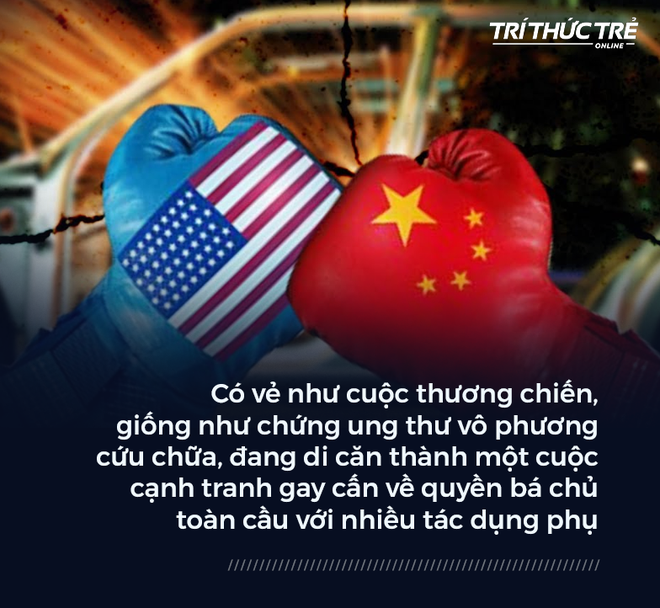 Thương chiến Mỹ-Trung đã thành cuộc xung đột quy mô lớn: Phía trước là suy thoái, sụp đổ và hủy diệt? - Ảnh 1.