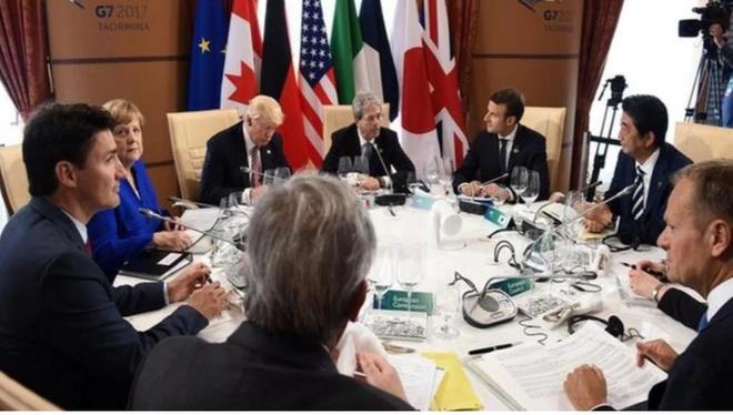 Trung Quốc phản đối tuyên bố chung của G-7 về Hong Kong - Ảnh 1.