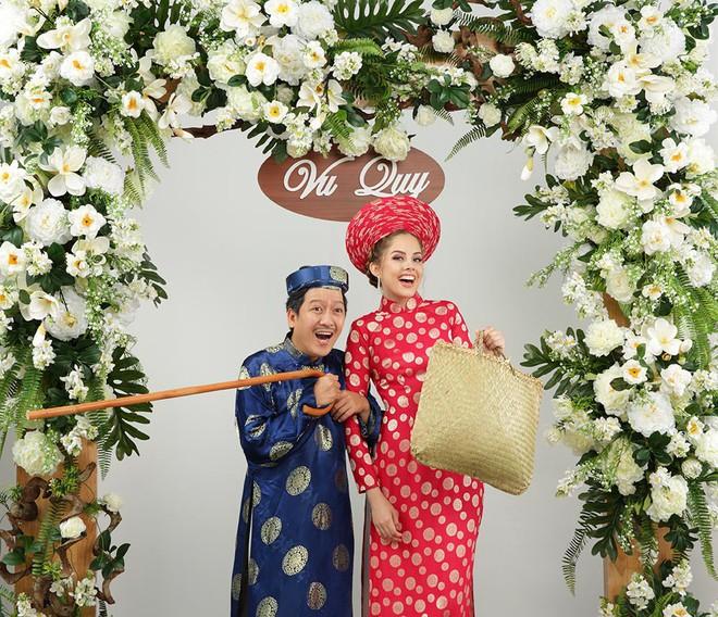 Ảnh cưới hài hước của Trường Giang và mẫu Tây - Ảnh 6.