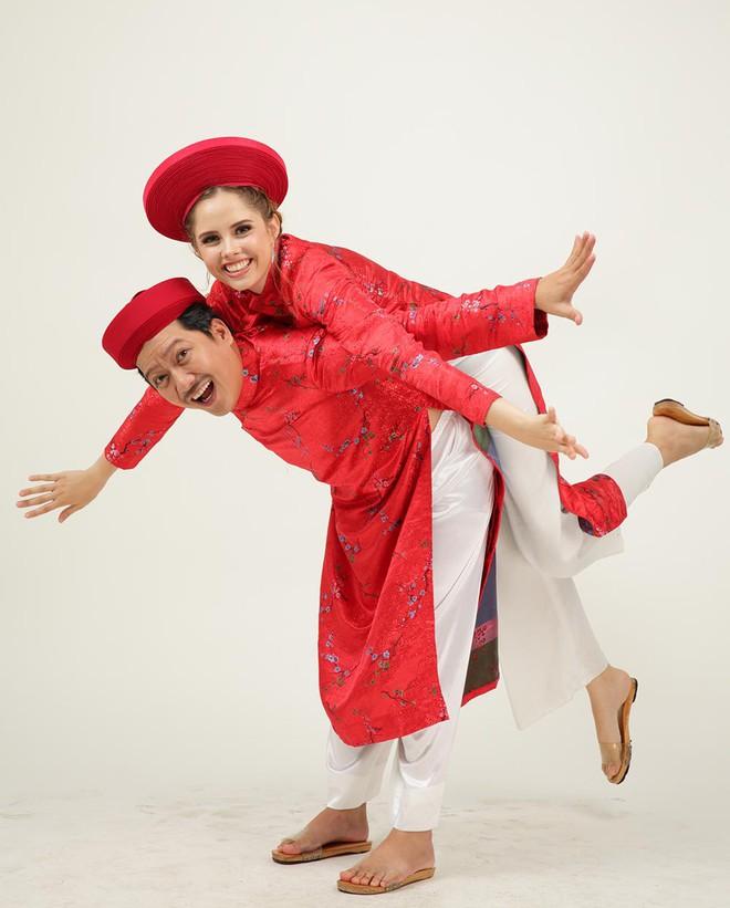 Ảnh cưới hài hước của Trường Giang và mẫu Tây - Ảnh 9.