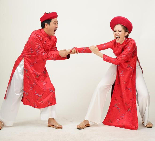 Ảnh cưới hài hước của Trường Giang và mẫu Tây - Ảnh 7.