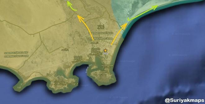 Quân ly khai Yemen sụp đổ: al-Qaeda chuẩn bị tiến vào thành phố chiến lược Aden? - Ảnh 2.