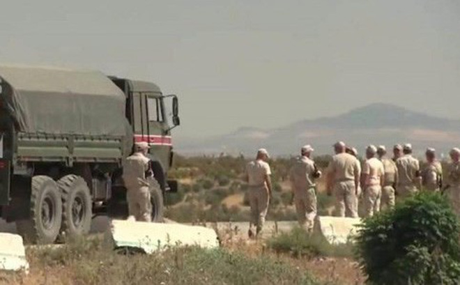 Quân đội Nga điều lực lượng tới gần chốt quân sự của Thổ Nhĩ Kỳ tại Syria