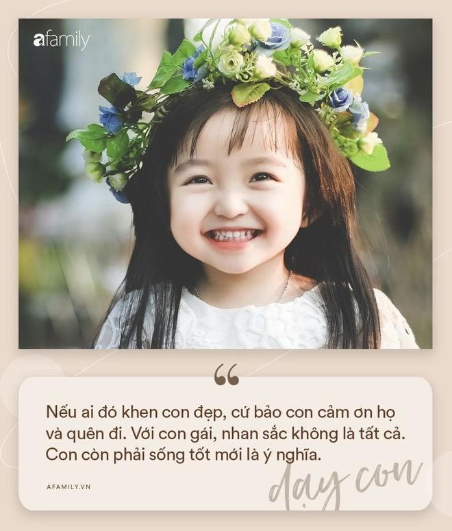 Nhà có con gái, nhất định phải dạy con biết giá trị bản thân và trân trọng chính mình qua 16 điều sau đây - Ảnh 3.