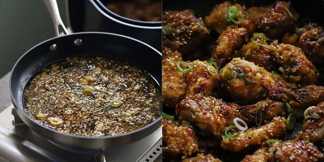 Cả nhà tôi ai cũng mê món gà rim mặn ngọt kiểu Hàn, mỗi lần có món này là nồi cơm hết bay trong nháy mắt - Ảnh 5.