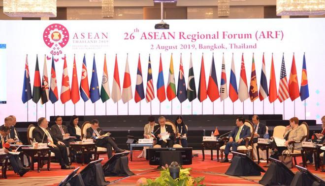 Trước 27 Bộ trưởng Ngoại giao, Phó Thủ tướng nêu sự cố nghiêm trọng Biển Đông - Ảnh 1.