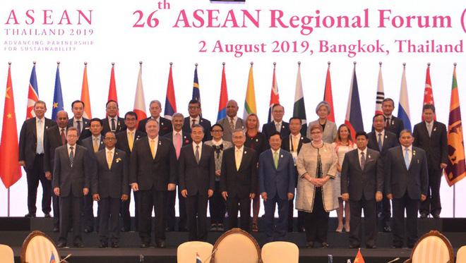 Trước 27 Bộ trưởng Ngoại giao, Phó Thủ tướng nêu sự cố nghiêm trọng Biển Đông - Ảnh 2.