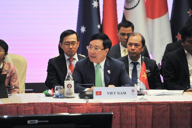 Trước 27 Bộ trưởng Ngoại giao, Phó Thủ tướng nêu sự cố nghiêm trọng Biển Đông - Ảnh 4.