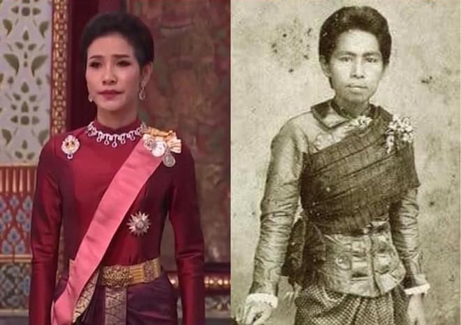 Lần đầu tiên trong lịch sử hiện đại, vua Thái Lan công bố vợ lẽ, sắc phong Hoàng quý phi, vẻ mặt Hoàng hậu ngồi bên cạnh mới đáng chú ý - Ảnh 4.