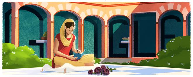 Google vinh danh Amrita Pritam - Nữ nhà thơ tiếng Punjab vĩ đại nhất thế kỷ 20 - Ảnh 1.