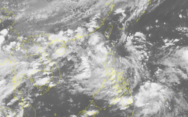 Đêm nay, áp thấp nhiệt đới sẽ đi vào Biển Đông và có khả năng mạnh thành bão