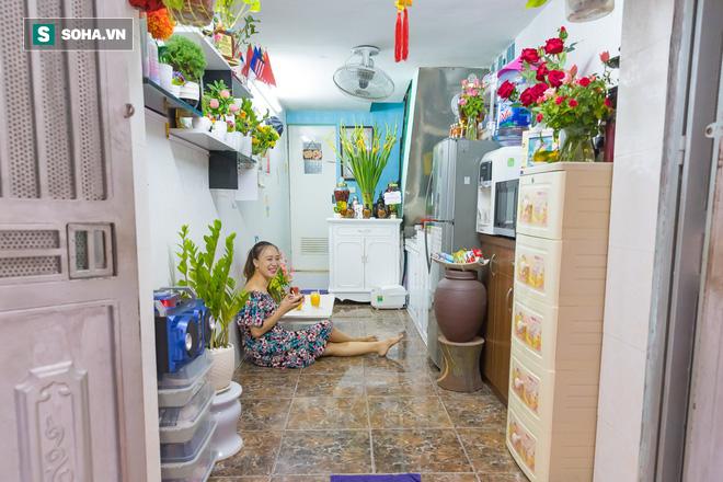 Căn nhà chưa đầy 15m2 của chị Linh đánh ghen phim Về nhà đi con - Ảnh 3.