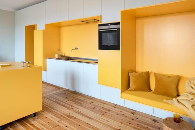 Bên trong căn hộ màu vàng xinh xắn - Ảnh 2.