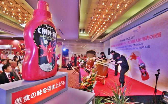 Nhãn hiệu tương ớt của Việt Nam chính thức gia nhập thị trường Nhật Bản theo đúng nghi thức của người Nhật